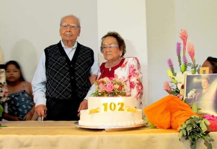 Doña Clotilde cumple 102 años