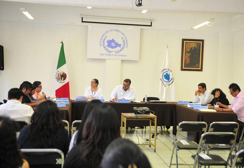Pide DDHPO proteger a periodistas y funcionarios | El Imparcial de Oaxaca