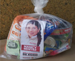 Denuncian a Nancy Benítez en Xoxo, por compra de votos