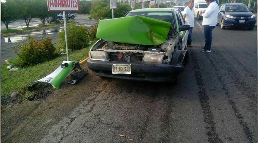 Carambola deja daños materiales en Salina Cruz | El Imparcial de Oaxaca