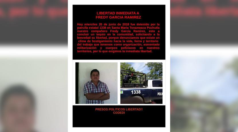 Detienen con arma de fuego a miembro  del Codedi: SSPO   El Imparcial de Oaxaca