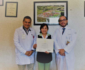 Destaca en EU enfermera del Hospital de Especialidades de Oaxaca