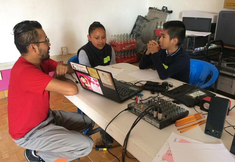 Entre rap y montañas niños  aprenden sobre sus derechos