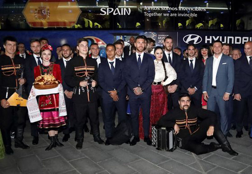 """La Furia Roja"" aterriza en Rusia | El Imparcial de Oaxaca"