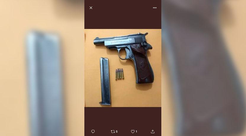 Lo detienen con una arma en  San Pedro Mixtepec   El Imparcial de Oaxaca