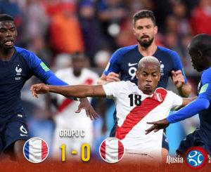 Decepción inca; Francia echa fuera a Perú del Mundial