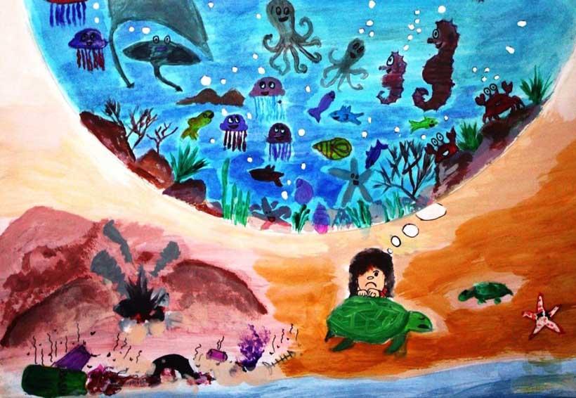 Fomentan la conciencia  ecológica marina en Oaxaca
