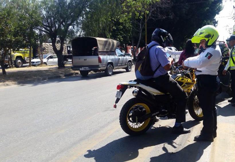 Insisten en respetar el  Reglamento de Tránsito en Oaxaca