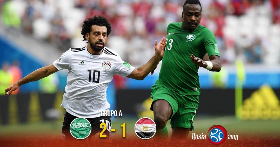 Arabia y Egipto se despiden del torneo | El Imparcial de Oaxaca