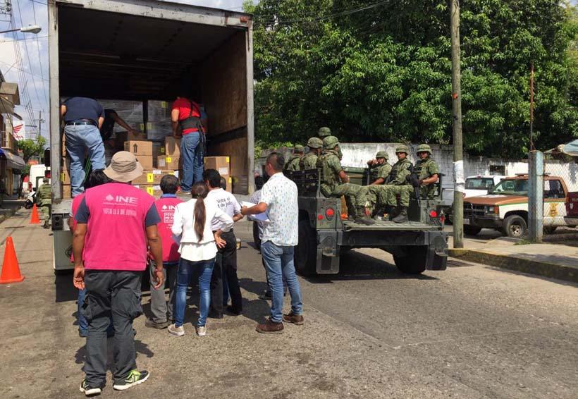 Llegan a Tuxtepec los primeros paquetes electorales con boletas | El Imparcial de Oaxaca