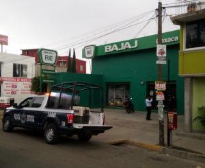 Asaltan negocio de motos en  San Antonio de la Cal