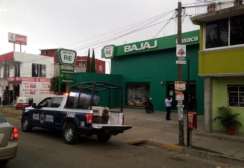 Asaltan negocio de motos en  San Antonio de la Cal | El Imparcial de Oaxaca