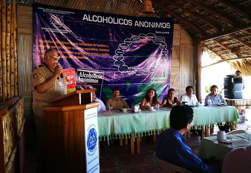 Llevan a cabo Décimo Primer  Foro de Alcohólicos Anónimos en la Costa de Oaxaca
