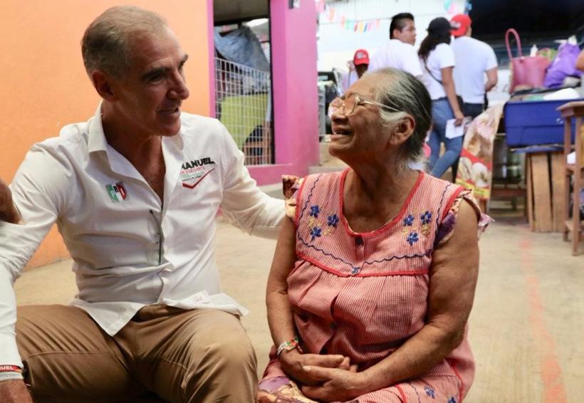 Iluminación eficiente en  la ciudad, compromiso de Manuel de Esesarte   El Imparcial de Oaxaca