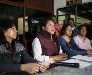 Desconocidos atacan domicilio de candidata de Morena en Xoxocotlán, Oaxaca