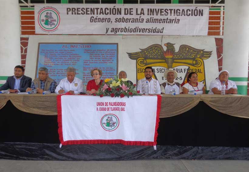 Palmeadoras de Tlaxiaco, el oficio en abandono por los gobiernos de Oaxaca