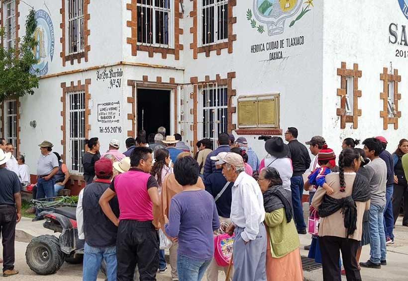 Piden  en Tlaxiaco frenar conflicto político por el agua