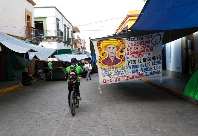 Plantones y marchas desalientan al turismo de Oaxaca