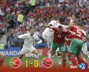 Portugal aniquila las esperanzas de Marruecos