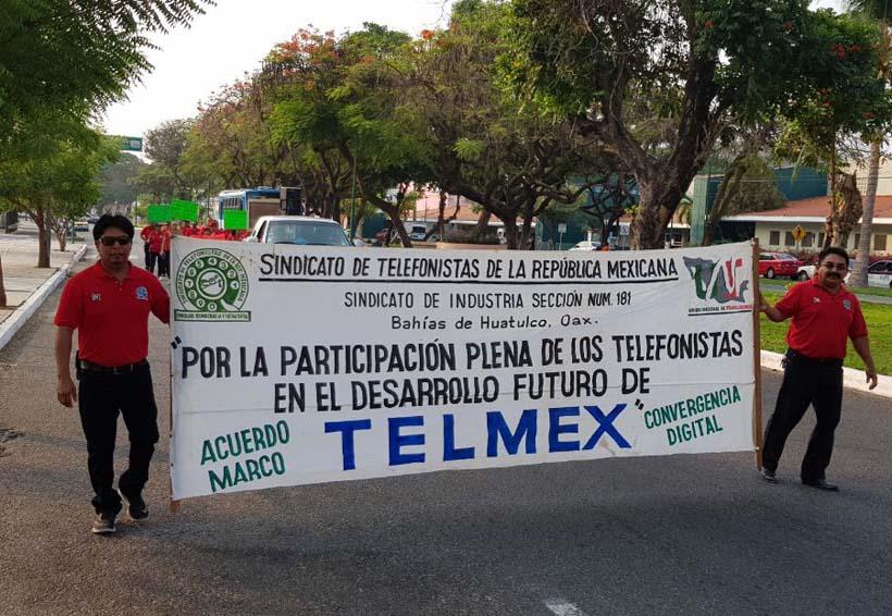 Posibilidad de huelga en Telmex