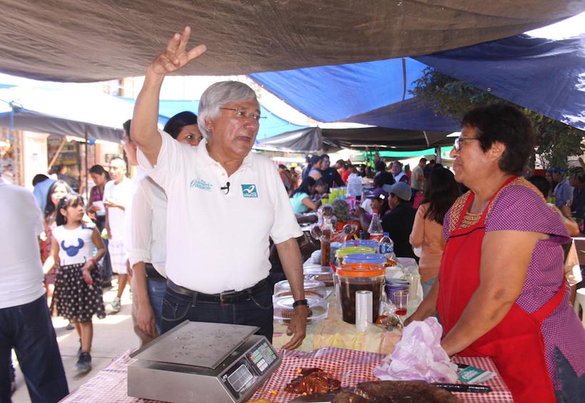 Seré el gran aliado de los  comerciantes: Raúl Castellanos | El Imparcial de Oaxaca