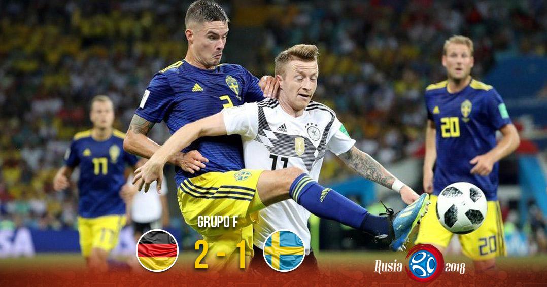 Alemania logró una victoria en la última jugada ante Suecia | El Imparcial de Oaxaca