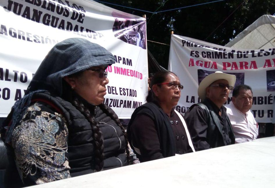 Habitantes de Ayutla Mixe, Oaxaca piden justicia y agua | El Imparcial de Oaxaca