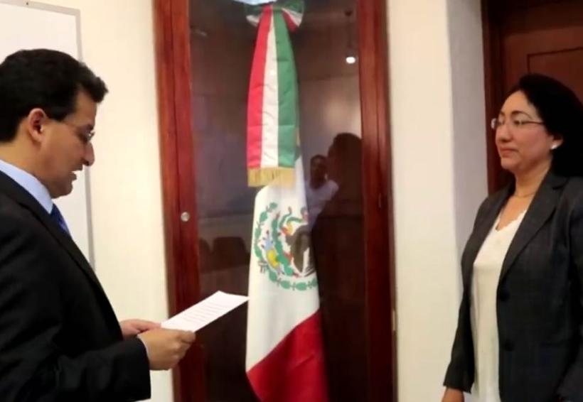 María del Carmen Chiñas nueva titular de la Fiscalía de la Mujer en Oaxaca | El Imparcial de Oaxaca