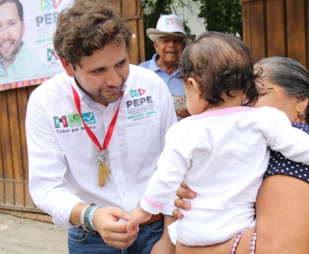 Todo San Blas Atempa está con Pepe Estefan
