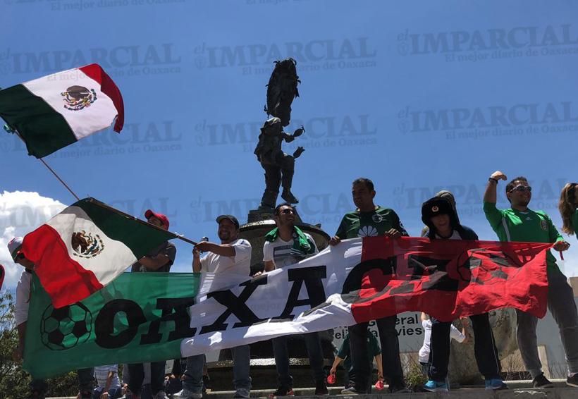 Oaxaqueños festejan con euforia el triunfo tricolor | El Imparcial de Oaxaca