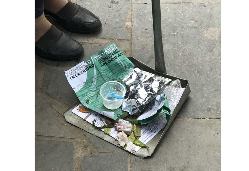 Preocupa contaminación que generan campañas electorales en Oaxaca | El Imparcial de Oaxaca