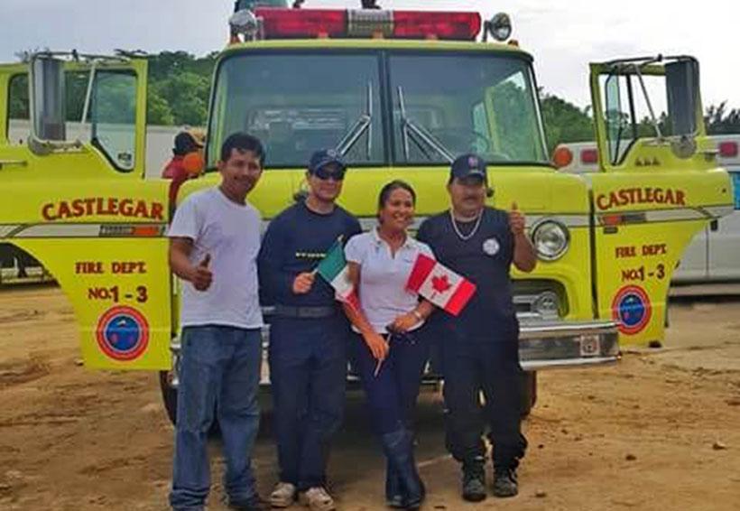 Bomberos de Canadá donan 2 vehículos a voluntarios de Pochutla | El Imparcial de Oaxaca