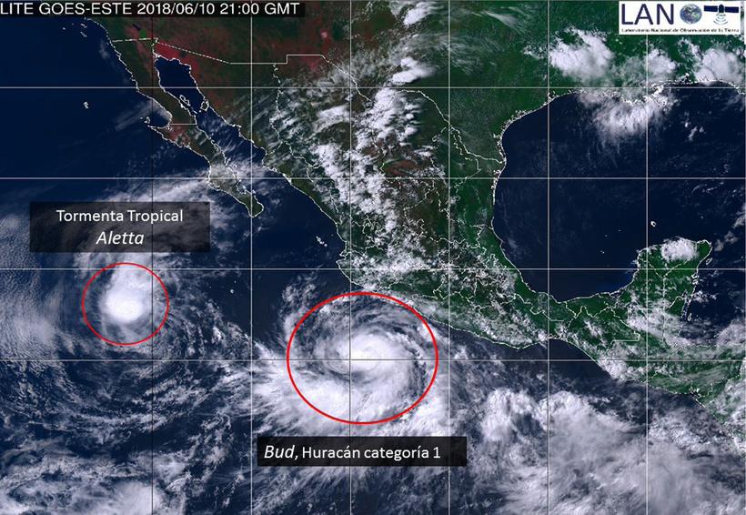 Bud ya es huracán categoría 1 y se aleja de Oaxaca | El Imparcial de Oaxaca