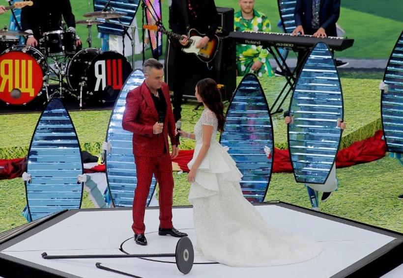 Inauguración del Mundial de Rusia: Robbie Williams y Aida Garifullina | El Imparcial de Oaxaca