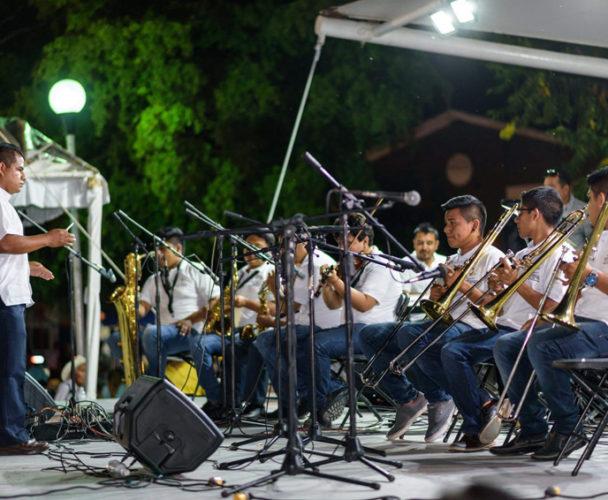 Con el programa de prevención del delito  se crea una Orquesta Municipal en Tuxtepec