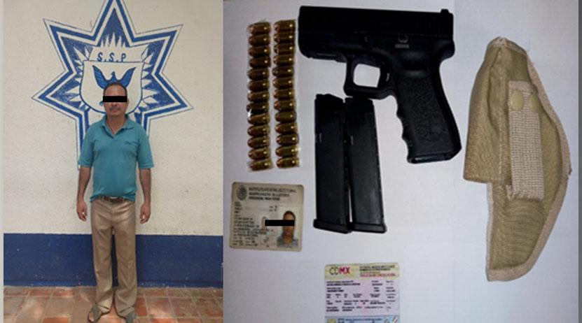 Arrestan a dos varones armados en la región del Istmo | El Imparcial de Oaxaca