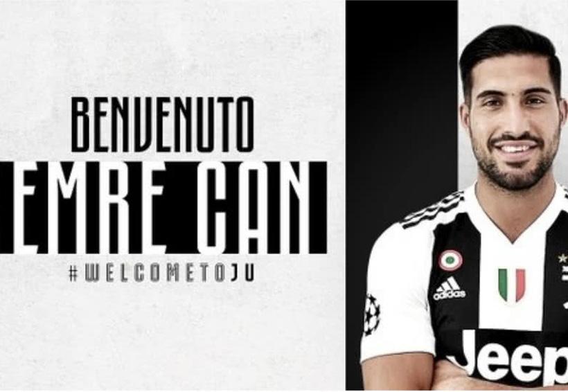 Emre Can ficha por la Juventus | El Imparcial de Oaxaca