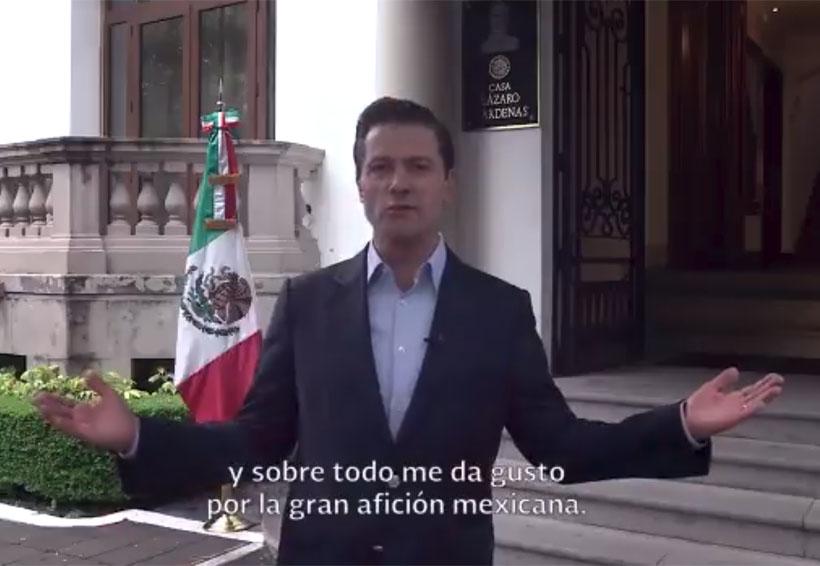 El futbol sabe que Canadá, EU y México estamos unidos: EPN. Noticias en tiempo real