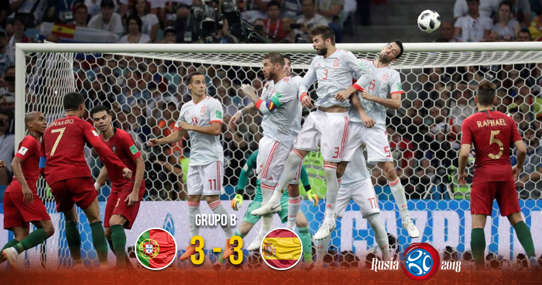 Portugal y España regalan el primer 'partidazo' del Mundial | El Imparcial de Oaxaca