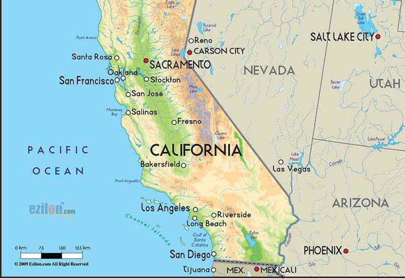California propone dividirse en tres estados | El Imparcial de Oaxaca