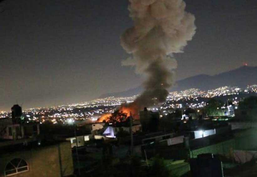 Explosión de pólvora en el Estado de México. Noticias en tiempo real