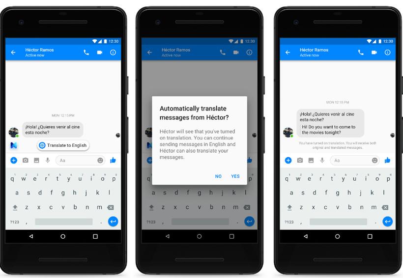 Facebook Messenger puede traducir entre inglés y español | El Imparcial de Oaxaca