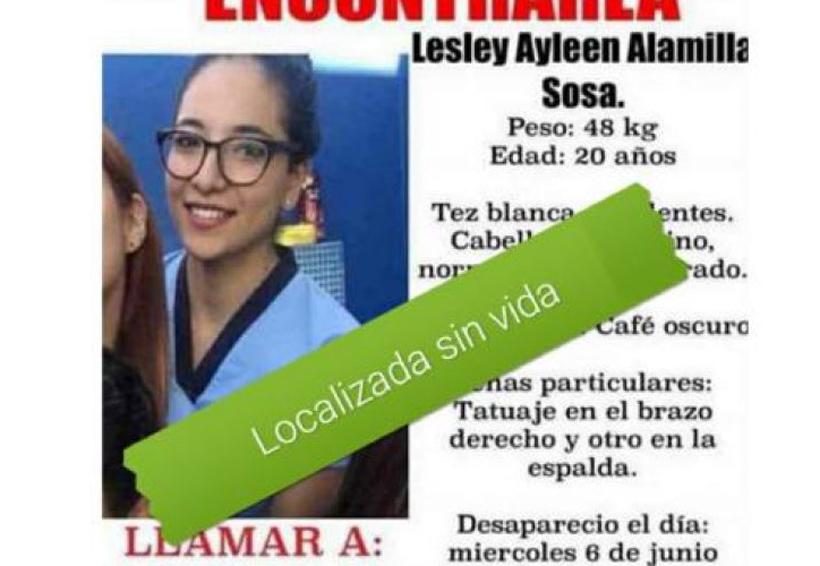 Hallan cuerpo de estudiante de Odontología reportada como desaparecida | El Imparcial de Oaxaca