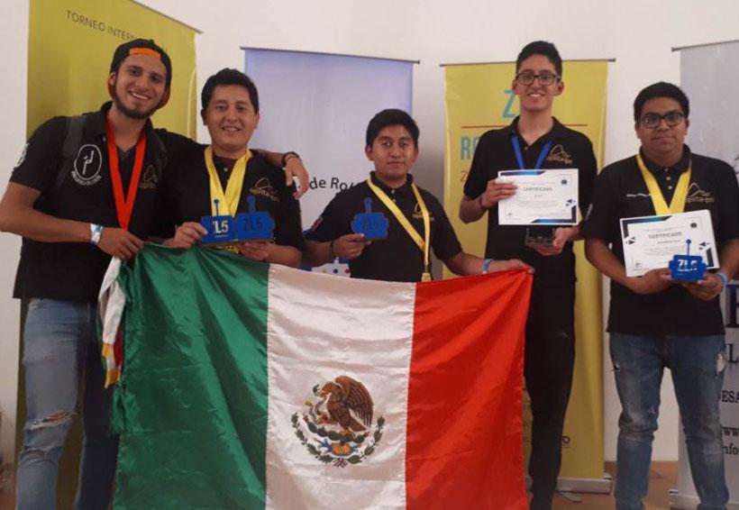 El IPN se lleva ocho medallas en competencia de robótica | El Imparcial de Oaxaca