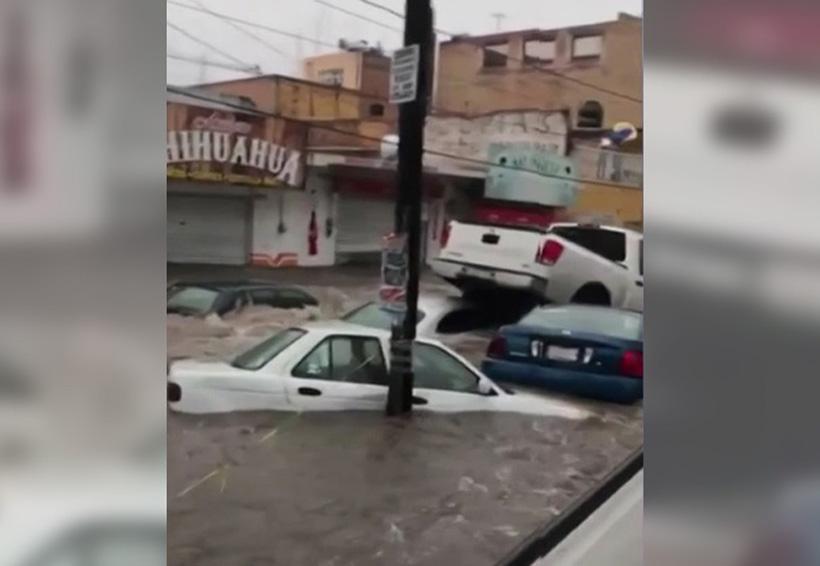 Video: Tormenta inunda las calles de Aguascalientes y arrastras los vehículos. Noticias en tiempo real