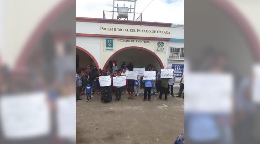 Toman juzgados en Tehuantepec, demandan justicia | El Imparcial de Oaxaca