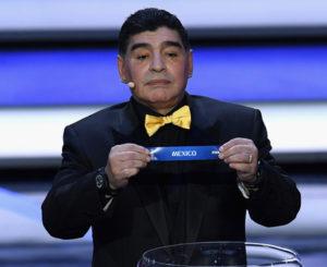 Maradona elogia la victoria mexicana ante Alemania