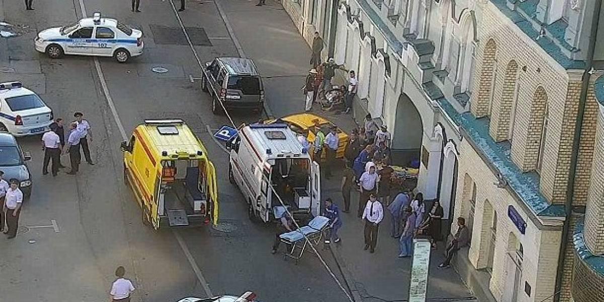 Mexicanos heridos tras ser atropellados por taxista en Moscú | El Imparcial de Oaxaca
