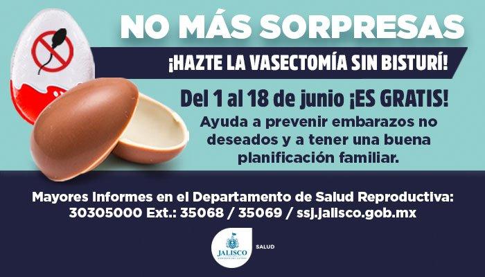 Promueven vasectomía con huevos… kinder | El Imparcial de Oaxaca
