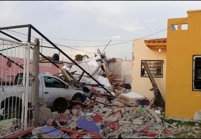 Explosión de gas en Tlajomulco derrumba casas | El Imparcial de Oaxaca